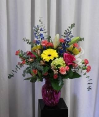 Bright and Cheery Floral  Design - $125.00