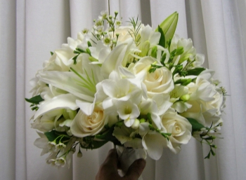 Pure Elegance Bridal Bouquet - $250.00