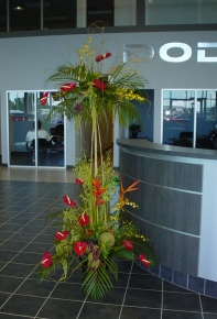 Exotic Entrance Arrangement - $375.00