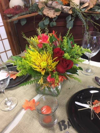 Grateful for All  centerpiece. $  65.00