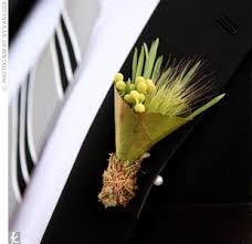 Natural boutonniere - $20.00