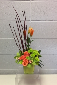 Office Flare arrangement - $55.00
