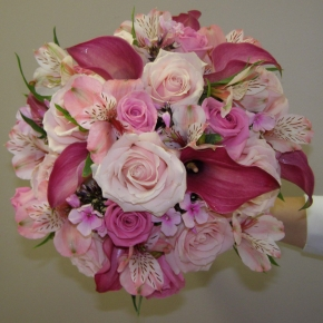 Lavishing Pink Bridal Bouquet - $275.00
