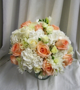 Peachy Delight Bride Bouquet - $350.00